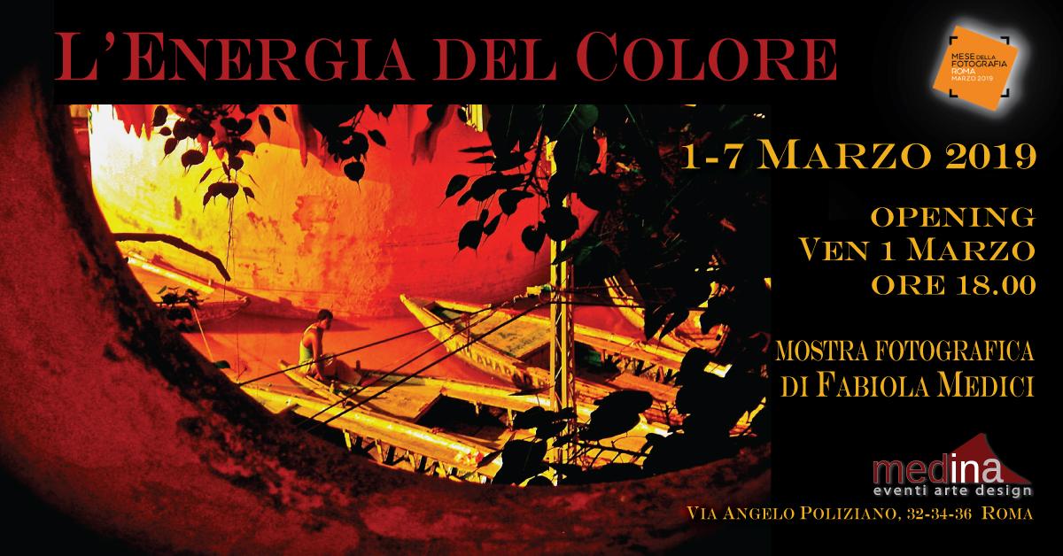 L'energia del colore di Fabiola Medici