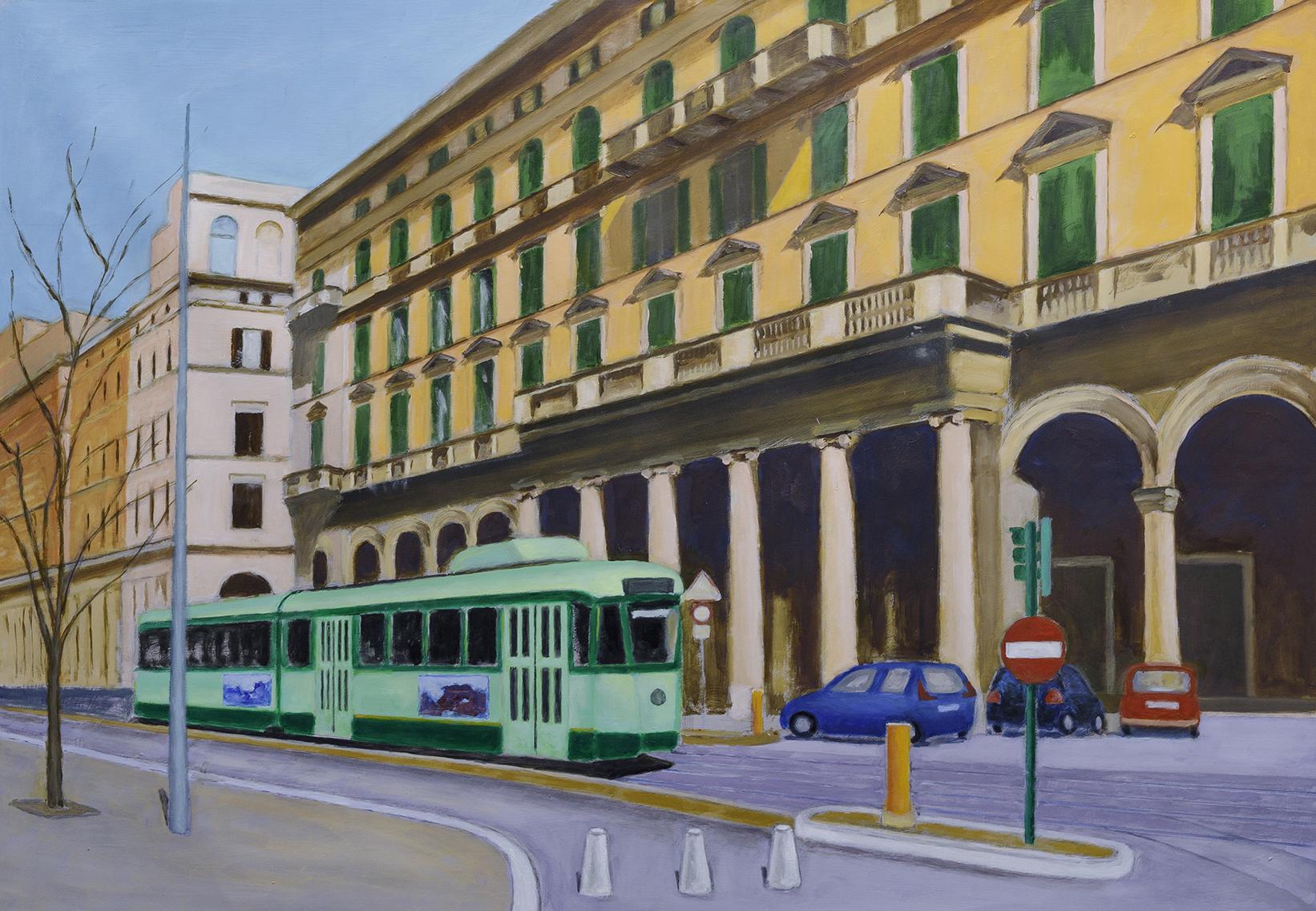 La luce di Roma mostra personale di Antonio Finelli