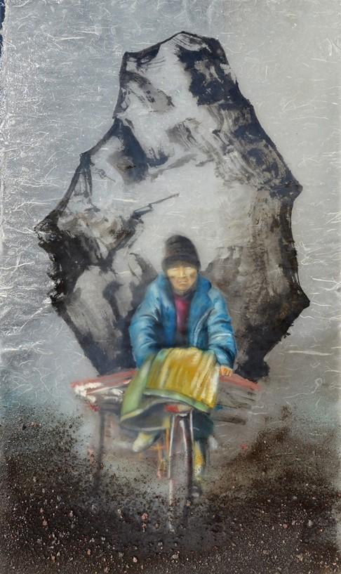 Sisifo Felice mostra personale di Valerie Honnart