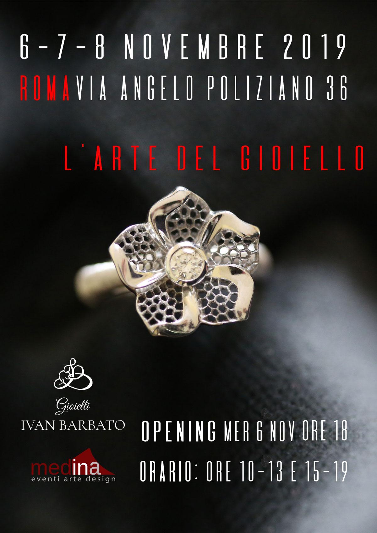 arte del gioiello di Ivan Barbato