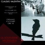 La solitudine necessaria di Luca Tridente e Claudio Valentini