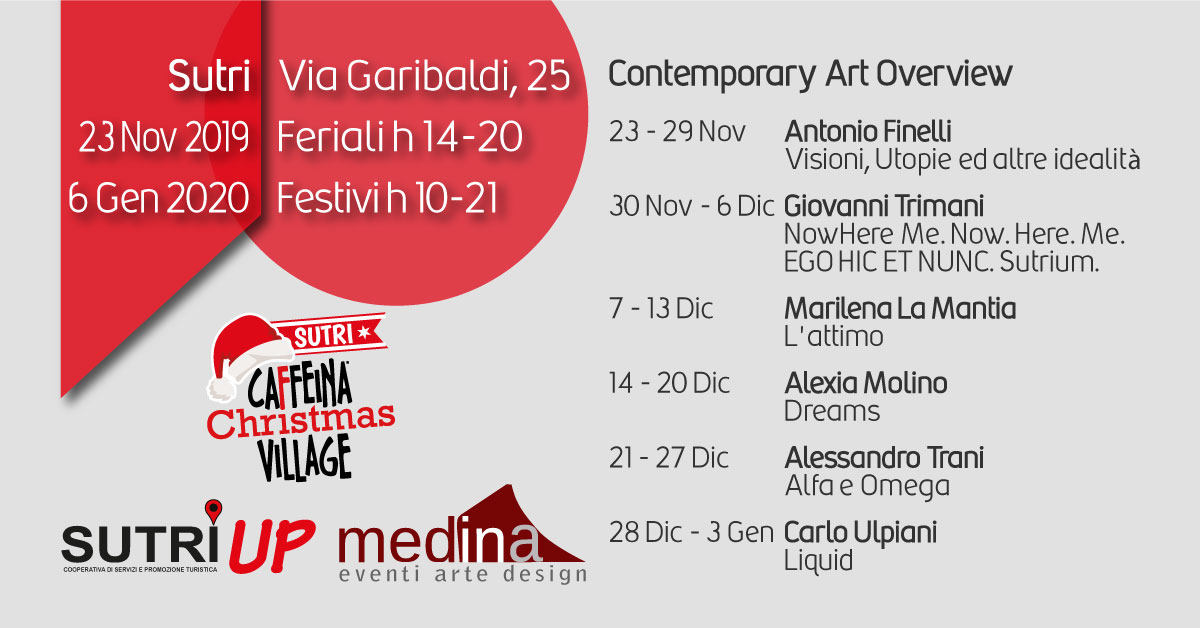 Contemporary Art Overview in Caffeina Christmas Village
