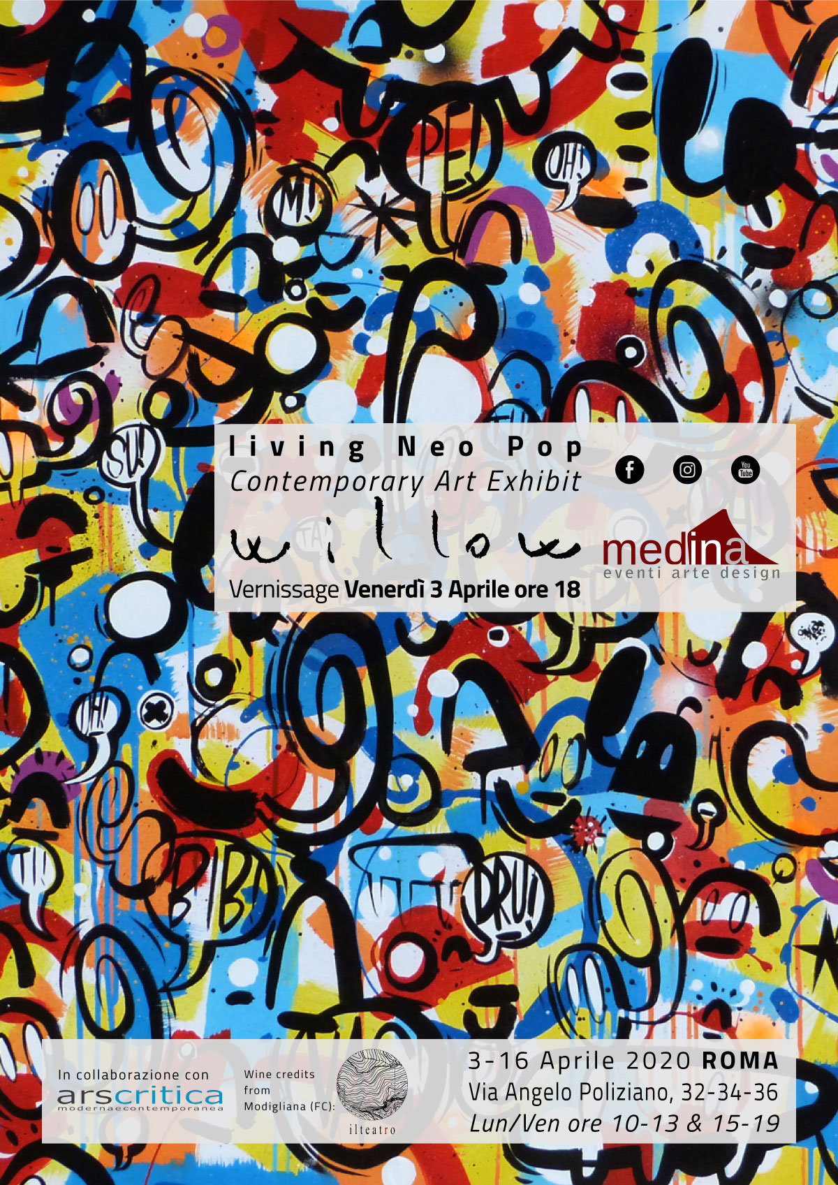 Living Neo Pop Willow Contemporary Art Exhibit