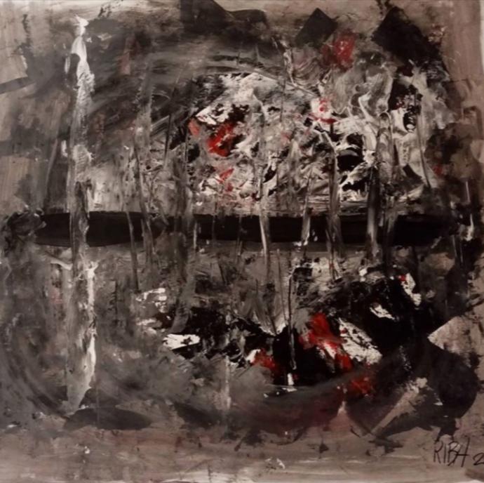 Overflow di Riccardo Barsottini, Cross Limits Contemporary Art Exhibit