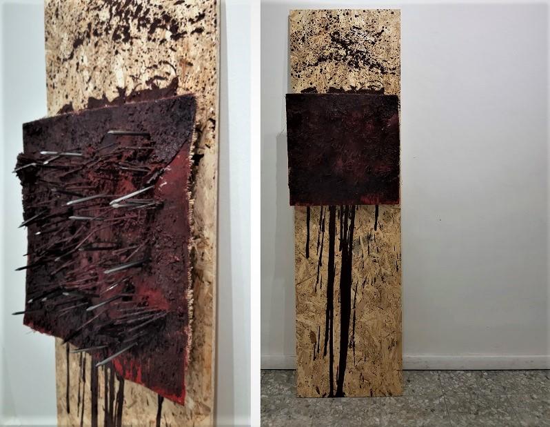 Still Alive di Romano Noviello, Cross Limits Contemporary Art Exhibit