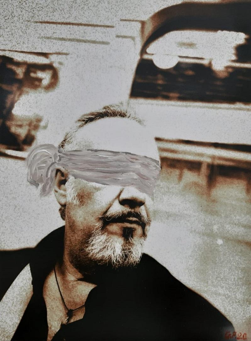 Con gli occhi dell'anima di Giampiero Pippia, Cross Limits Contemporary Art Exhibit