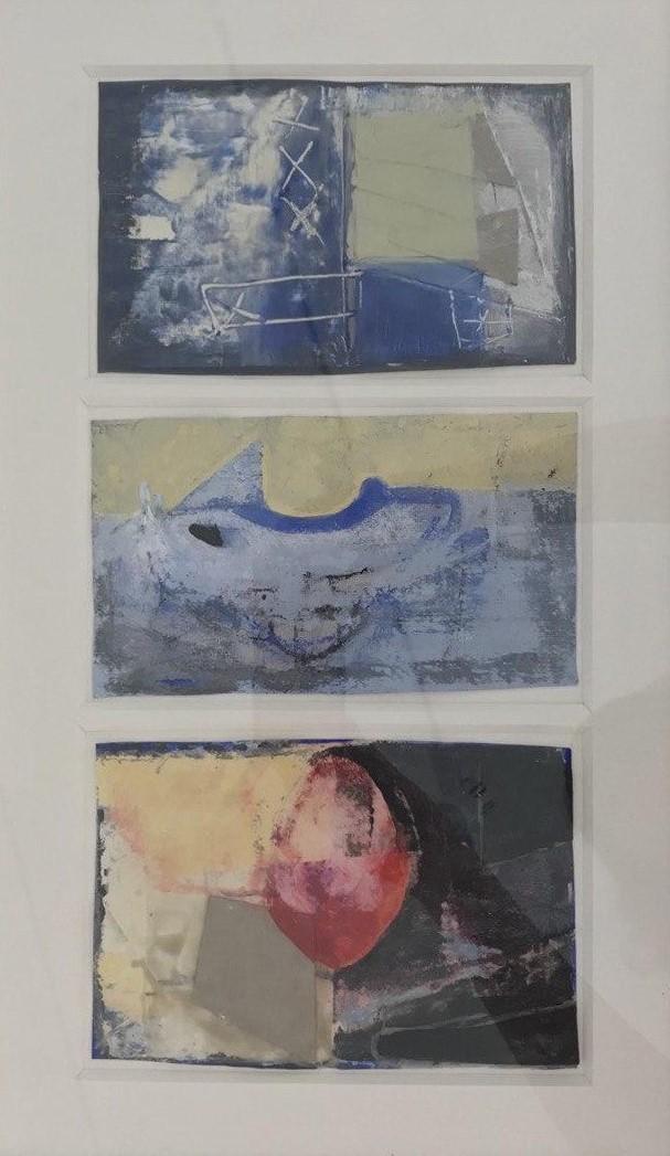 Trittico di Emanuela Scannavini, Cross Limits Contemporary Art Exhibit