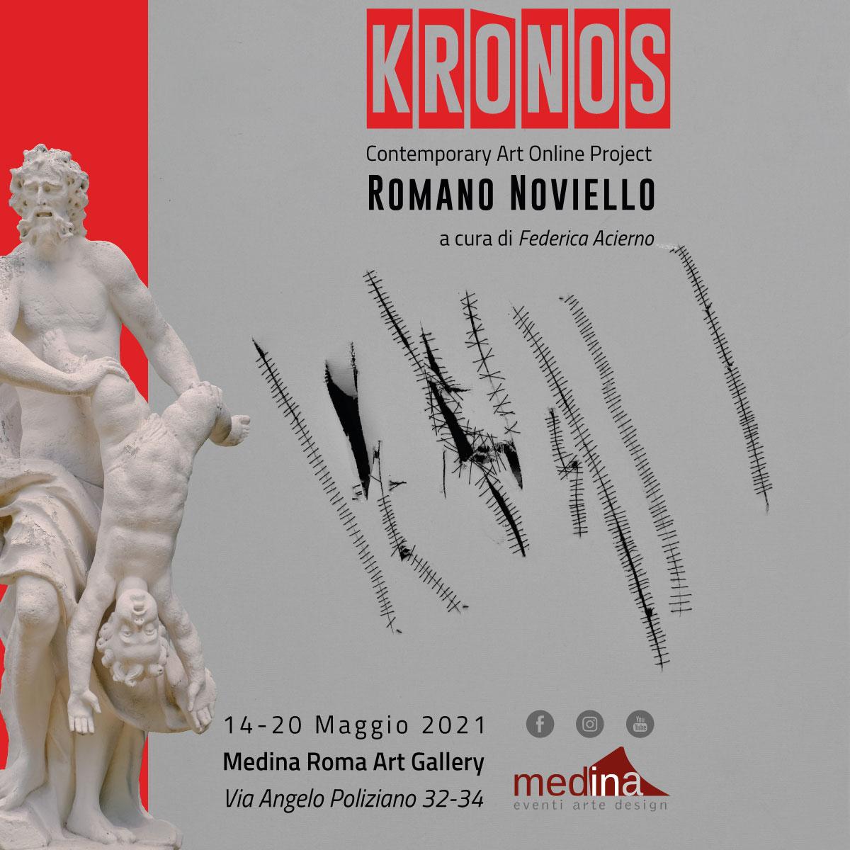 Kronos Mostra personale di Romano Noviello