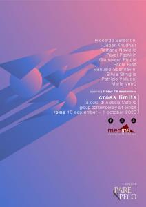2020 cross limits exhibit leaflet logo pare artisti