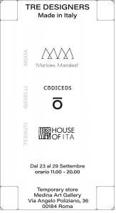 Locandina Tre Designer def