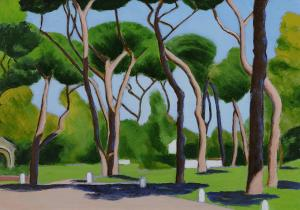 alberi al Colle Oppio wp