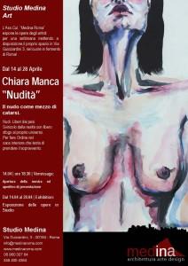 locandina Chiara Manca