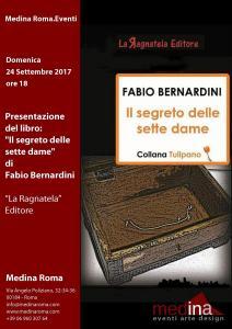 20170910 Locandina Presentazione Libro Fabio Bernardini