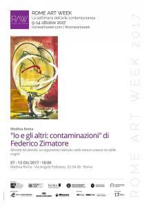 LocandinaRomeArtWeek MedinaRoma Federico Zimatore