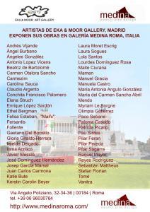 cartel invitación Roma Internet