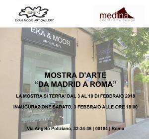cartel invitación Roma copia A