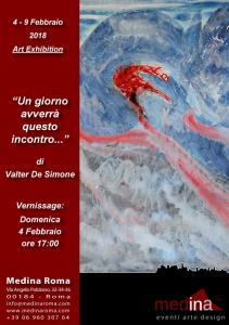 20180204 Locandina Valter De Simone