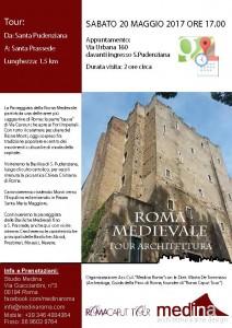 Percorsi Roma Medievale 20 Maggio
