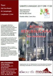 Percorsi Roma Repubblicana 6 Maggio